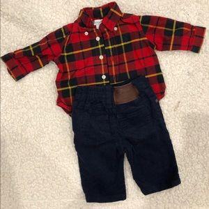 Ralph Lauren Baby Outfit.